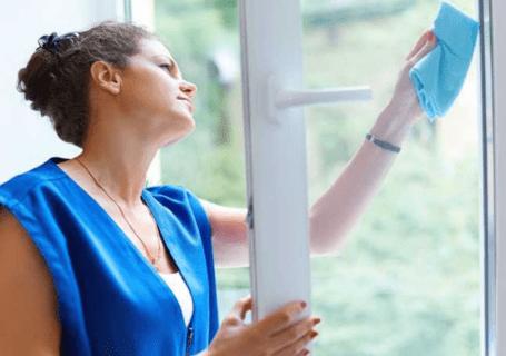 mycie okien domowymi sposobami
