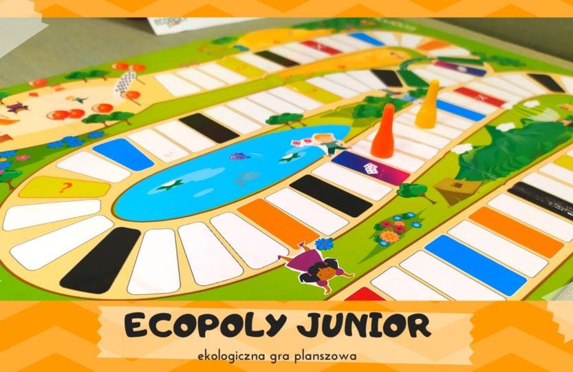 ekologiczna gra planszowa dla dzieci